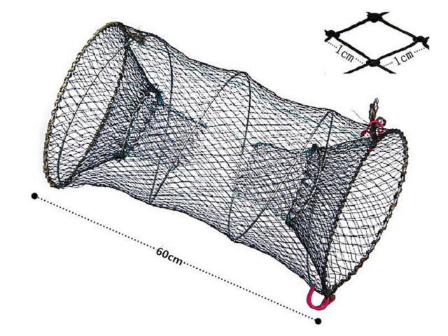 Sale Crab fish Trap Cast Net Lobster Crawfish Shrimp Trap Cage Fishing Yabbies