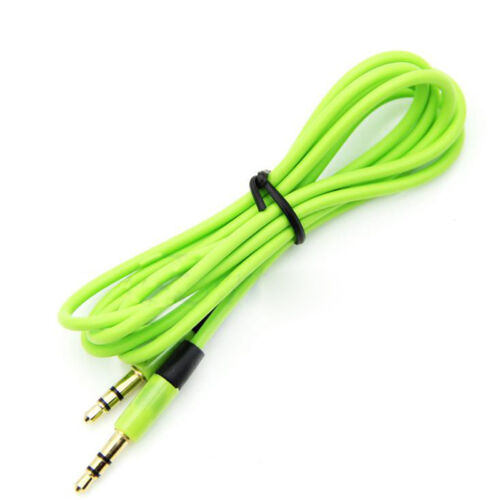 Hotsale New 3.5mm Jack Male to Male Stereo Audio AUX Cable Cord For iPhon NoUPGQ