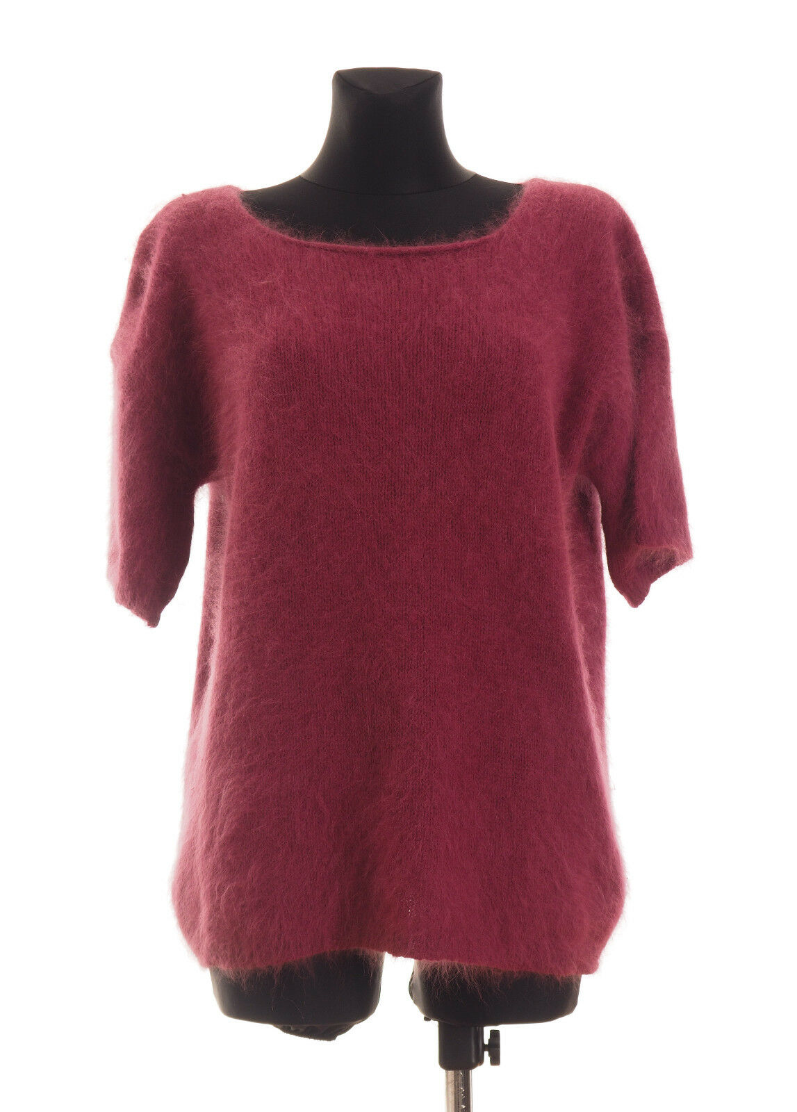 Roberto Collina Womens short sleeved Angora Blend Sweater Size 2  Made in