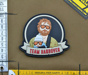 PVC-Rubber-Patch-034-Team-Hangover-Alan-034-with-VELCRO-brand-hook