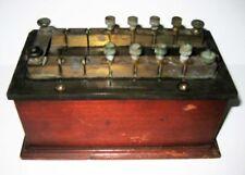 Antique G H Stoelting Co Chicago Ill Bakelite Decade Resistance Box Used
