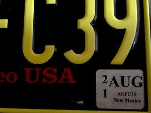 🇺🇸  US Kennzeichen Nummernschild Licenseplate USA  NEW MEXICO  ANFC 39  🇺🇸