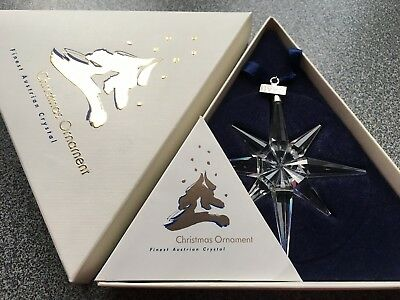 Swarovski 1995 Large Christmas Ornament/Star, Complete ...