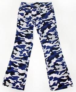 MINI BODEN Girls Pink Purple Gray Camo Corduroy Pants Jeans ~ Size ...
