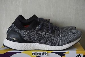 ec8a7548ee8 Image is loading Adidas-Ultra-Boost-Uncaged-Black-White-BB3900-new-