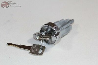 80-91 Ford Truck Ignition Lock Cylinder w Keys No Buzzer New