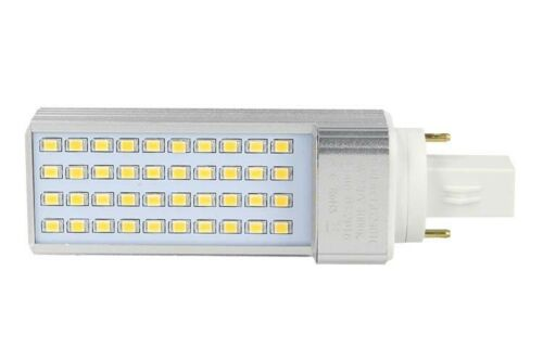 Lampada LED PLC G24 2 Pin 220V 8W Bianco Caldo Basso Consumo 40 SMD 2835