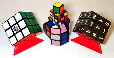 2019 Moda Originale Cubo Di Rubik, 1x1x1, Barile Sudoku Portachiavi Raro Tortuosa Puzzle 7 Articoli!-mostra Il Titolo Originale