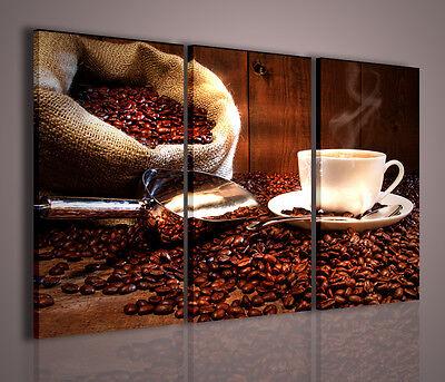 QUADRI MODERNI CAFFE/' VIII QUADRO MODERNO 100X70 ARREDAMENTO MODERNO CASA BAR