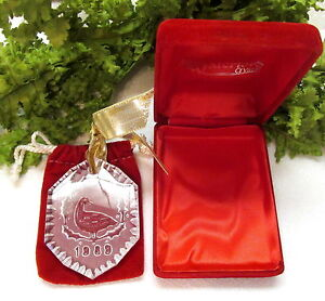 1989 WATERFORD CRYSTAL 12 DAYS OF CHRISTMAS TREE ORNAMENT ...