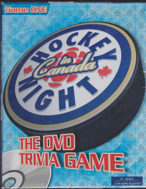 Hockey in Canada Night the (DVD Trivia Game) Brand New