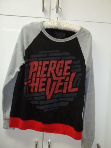 Pierce The Veil Leightweight Sweatshirt Black Gray