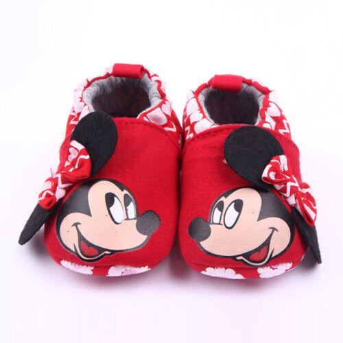 Zapatos Calzado Comodo De Bebe Para Niño Niña Micky Minnie Bebes Recién Nacidos