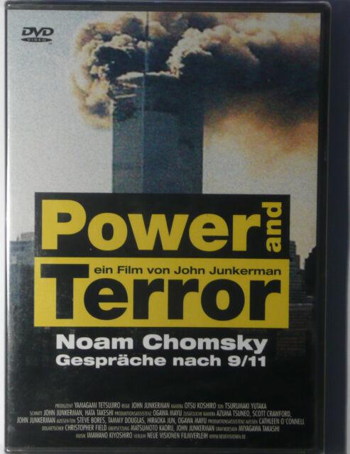 Power And Terror: Noam Chomsky-Gespräche nach 9/11 RARITÄT!