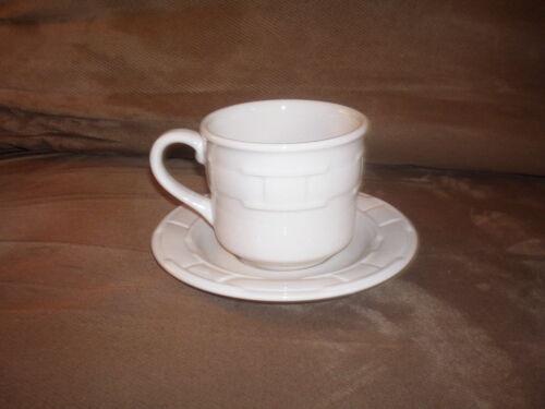 Heirloom Ivory Made in USA Longaberger Cup /& Saucer Set
