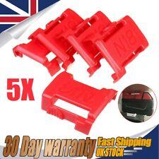 5X Battery Mounts For MILWAUKEE M18 18V Storage Shelf Rack Stand Holder Slots UK