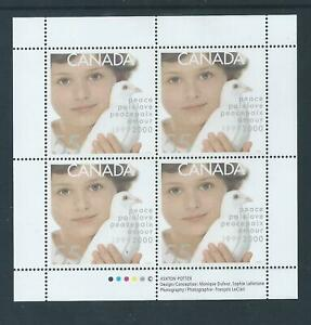Canada-Millennium-Issues-Dove-1813-Full-Pane-MNH-Free-Shipping