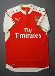 4.9 5 Arsenal shirt MEDIUM 2015 2016 home jersey soccer football ... 19cde53e5
