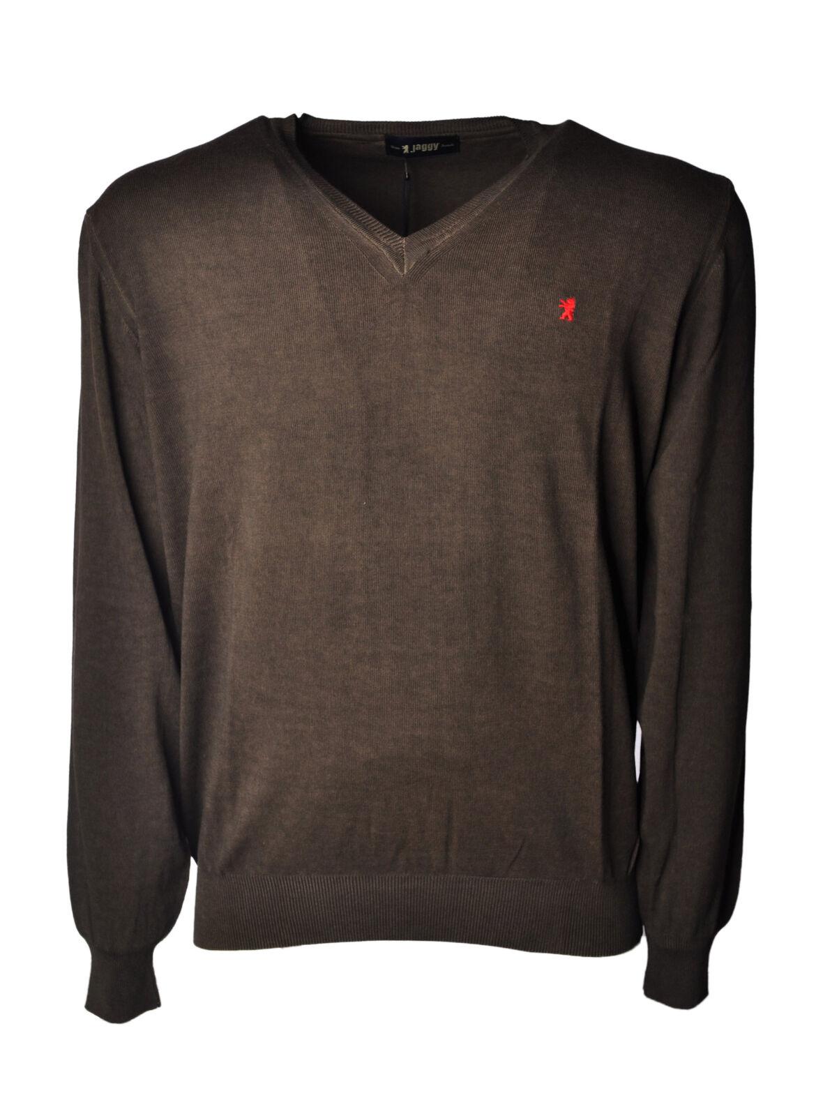 Jaggy  -  Sweaters - Male - Braun - 4631422A182151