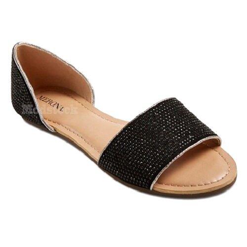 Womens Sandals Merona Bela Beaded Slide Sandals Womens NWOB C69 7c3b5d