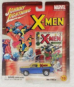 JOHNNY-LIGHTNING-THE-X-MEN-18-OF-18-039-54-CHEVY-PANEL-VAN-DIECAST-1-64-SCALE