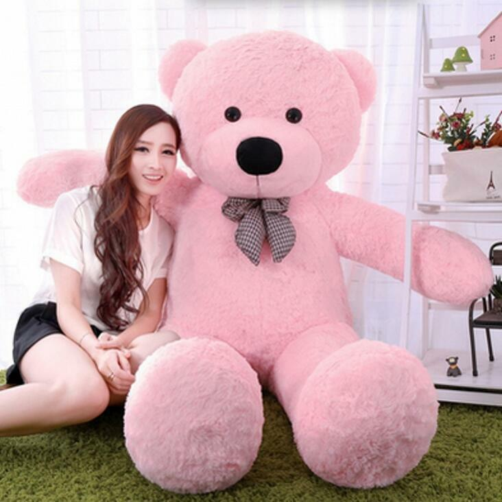 2019 Giant Big Teddy Bear Plush Doll Hung Baby Soft Toy Valentine Birthday Gifts