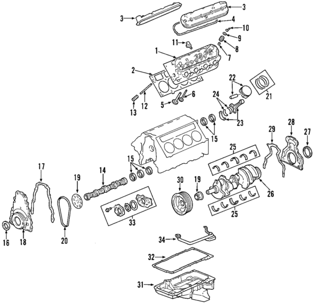 gm ls2 camshaft 12574519 corvette gto for sale online | ebay ls2 engine diagram ls3 engine exploded view ebay