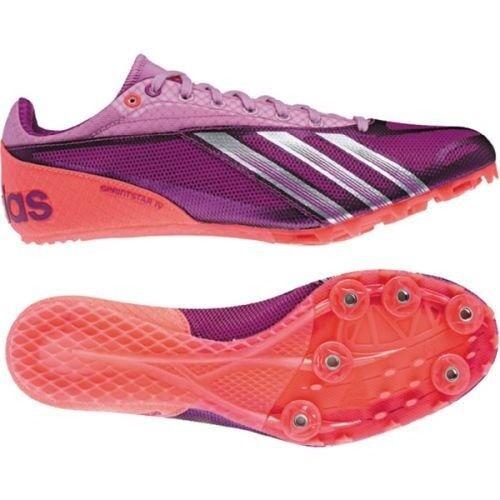 Spike Red Track 10 Womens Sz Adidas Shoes Sprint Pink New 4 Purple Field Star WnnC18UwZ
