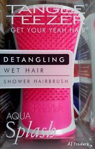 Tangle-Teezer-Aqua-Splash-Tangle-capelli-bagnati-DOCCIA-Spazzola-per-capelli-rosa
