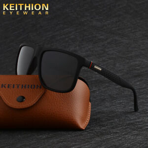 KEITHION-Square-Fashion-Polarized-Men-Sunglasses-Driving-Sports-Outdoor-Eyewear