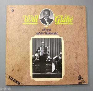 Will Glahe & Orchester - Ich spiel auf der Harmonika Electrola Aufnahmen 2x Lp - Berlin, Deutschland - Will Glahe & Orchester - Ich spiel auf der Harmonika Electrola Aufnahmen 2x Lp - Berlin, Deutschland