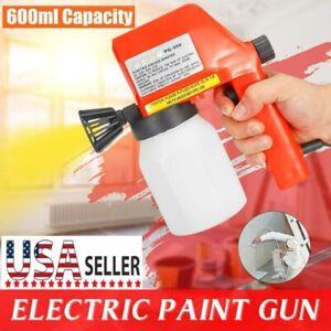 Electric-Paint-Sprayer-Hand-Held-Painter-Painting-Home-Airless-Spray-Gun-Tool-US