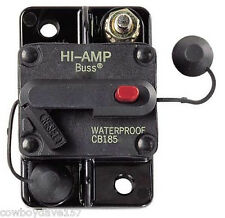 Bussman DC Circuit Breaker 150 Amp Surface Mount Manual 185150F  CB185F-150
