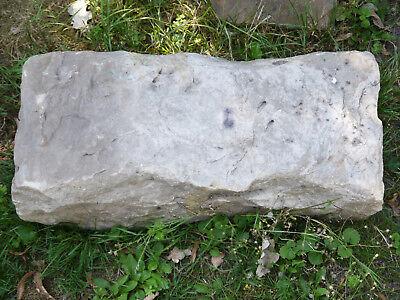 Schöner, Alter Sandstein-quader...handbehauen... -a- Billigverkauf 50%
