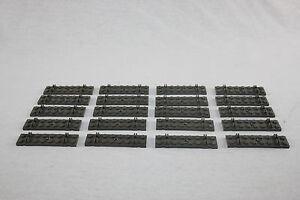 20 Schienen grau Lego  4,5 V Eisenbahn gerade