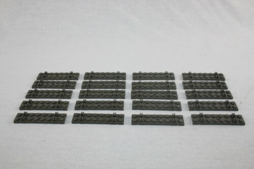 Lego® Eisenbahn Schwellen grau Bahnschwellen für 12V Schienen 20 Stück Schweller