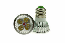 E27 4x1W LED SPOTLIGHT BULB LAMP 4W HIGH POWER DAY COOL WHITE CE RoHS LS 5