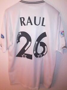 LUANVI-vtg-Valencia-CF-1995-1996-Raul-26-match-worn-camiseta-vintage-trikot-90-s
