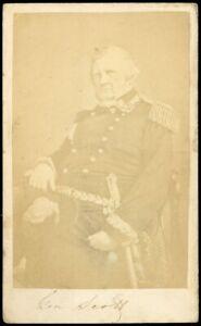 1865-CIVIL-WAR-CDV-Carte-de-Visite-General-WINFIELD-SCOTT-McAllister-Revenue