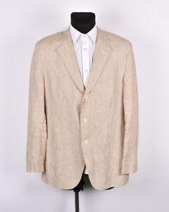 Gant-Hombre-Casual-Algodon-Chaqueta-Americana-Talla-EU50-UK40