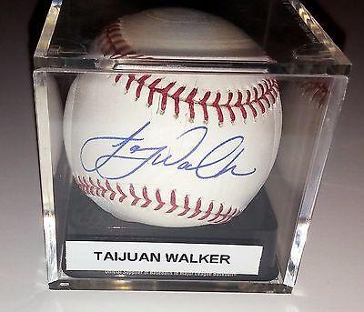 Delicious Taijuan Walker Signed Romlb Baseball Arizona Diamondbacks Fod Coa Greinke Baseball-mlb Sports Mem, Cards & Fan Shop
