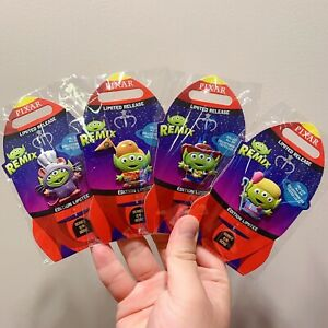 Disney store Pin 2020 Toy Story Alien Pixar Remix woody remy set Limited release