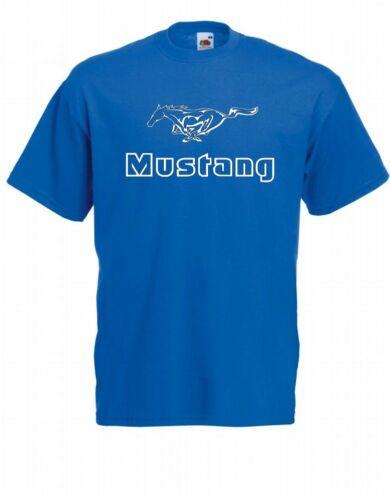 Herren T-Shirt Mustang Größe bis 5XL
