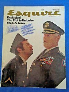 ESQUIRE-Magazine-Aug-1968-Raquel-Welch-Mickey-Mantle-Willie-Mays-Glass-Marbles