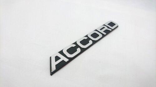 Honda Accord Letters Black Badge Emblem Rear Boot Trunk 165mm x 22mm Sticker