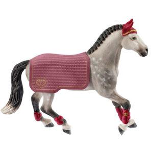 Equitazione Animali Figura 11cm Schleich Cavallo Club Trakehner Mare Cavallo