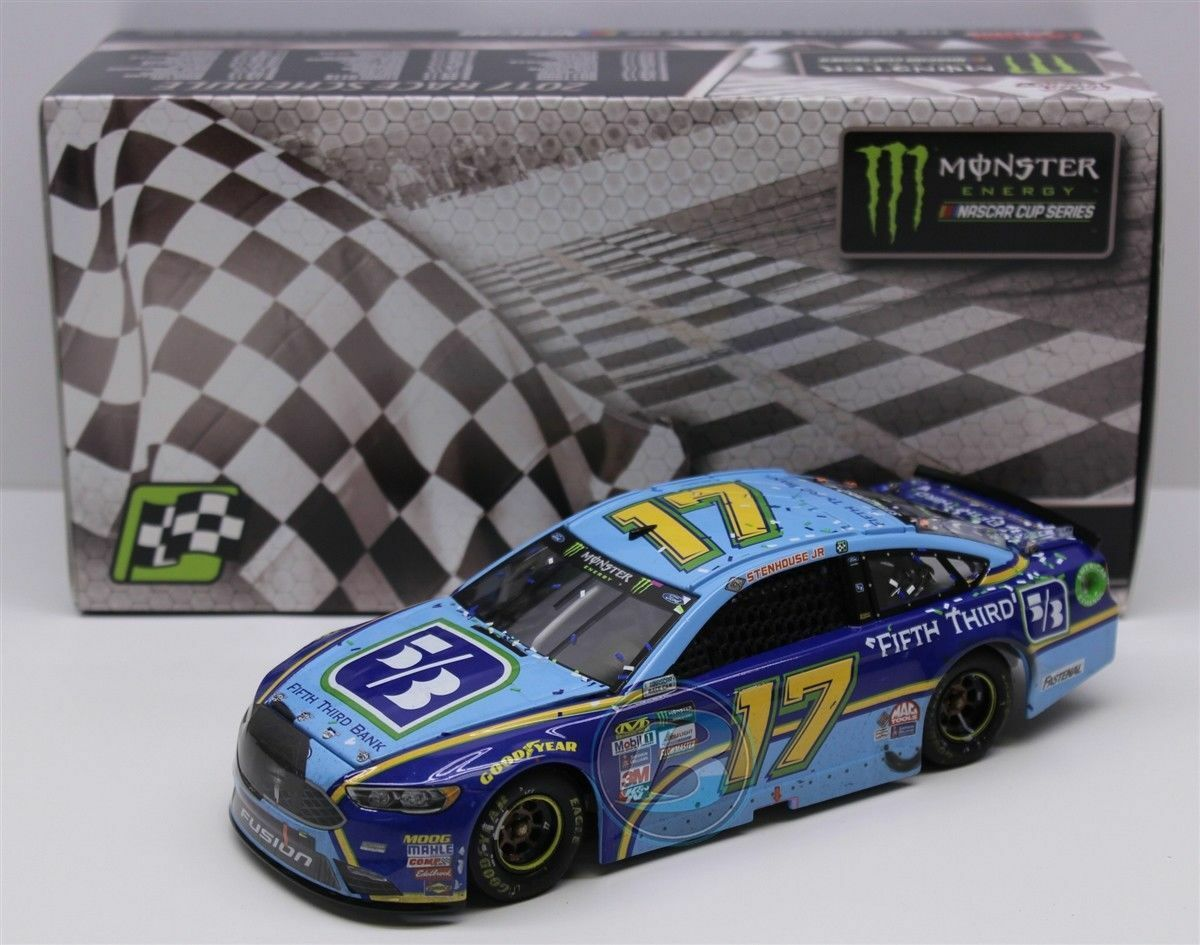 Ricky Stenhouse Jr.  17 First Fith sizedega First Win 2017 1 24 NASCAR Diecast