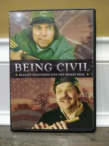 Civil War Comedy DVD Being Civil MOVIE RARE Independent OOP Galena Illinois
