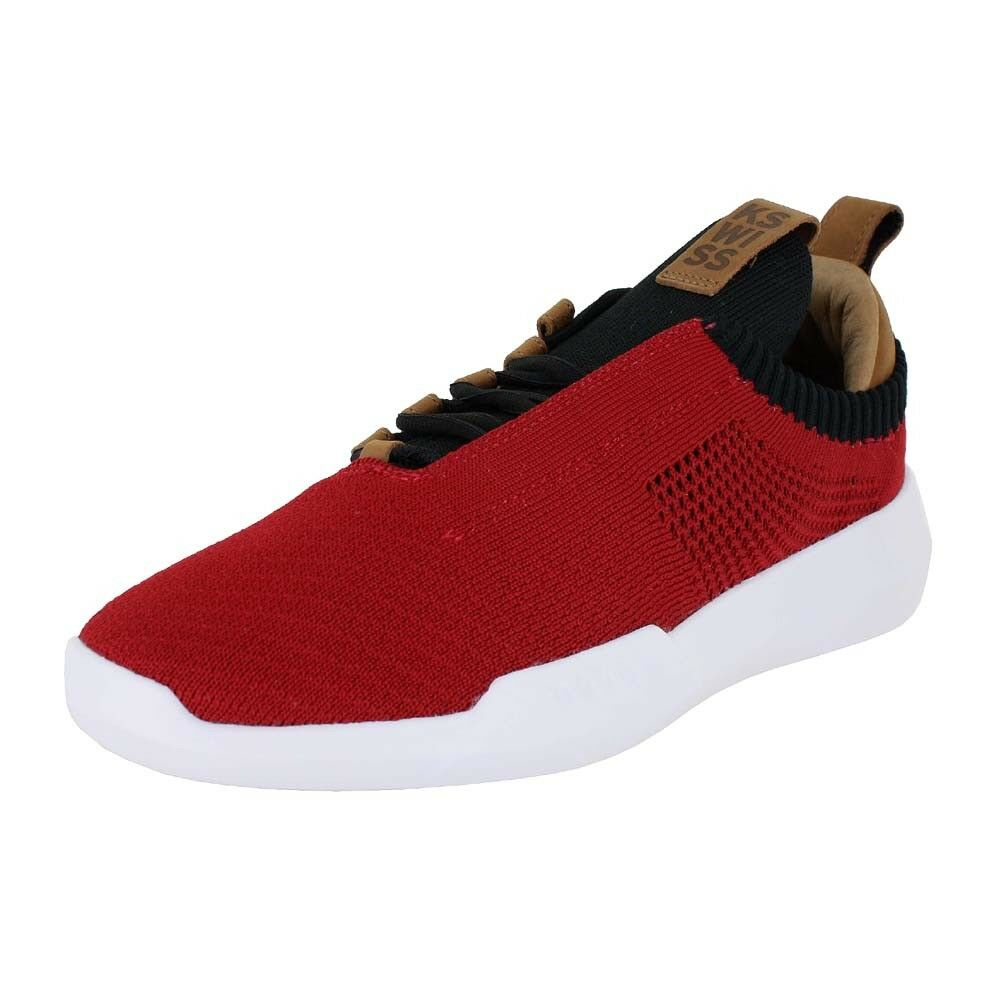 KSWISS GENERATION-K ICON KNIT RED BLACK BROWN 05578 614 MENS US SIZES