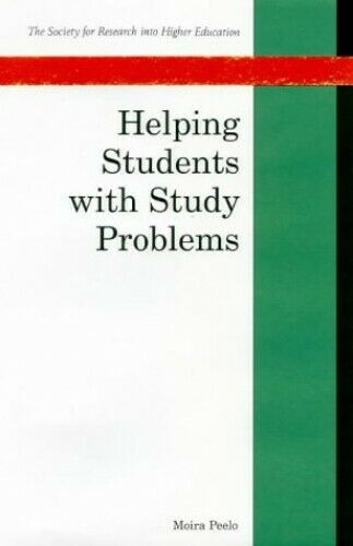 Helping Students with Study Problems (Society fo... by Peelo, Moira T. Paperback